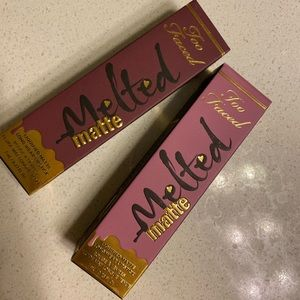 Other - Two Faced Melted Matte Lipstick Wine Not/Queen B